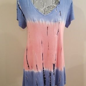 Tie dyed Top/Dress